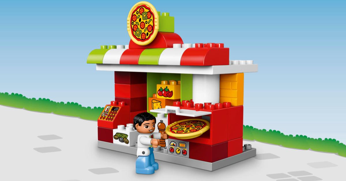 lego duplo pizzeria set