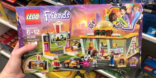 LEGO Friends Drifting Diner Building Set Only $14.99 (Regularly $30) + More