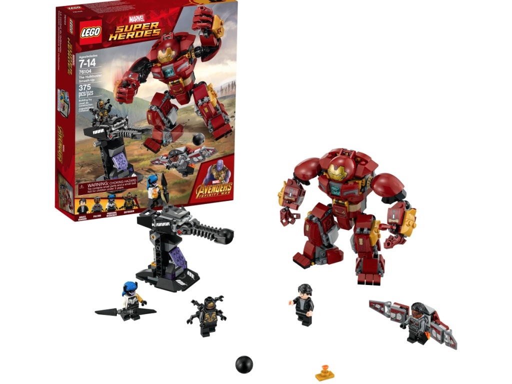 Lego Marvel Hulk Set