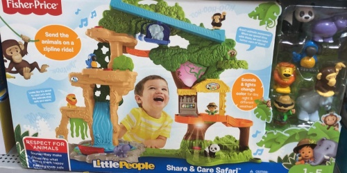 Little People Share & Care Safari Playset Only $30.69 Shipped (Regularly $60)