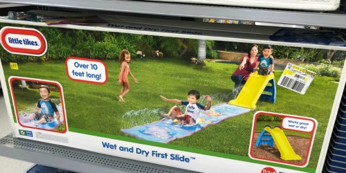 Little Tikes Wet & Dry Slide w/ Mat Only $25 at Walmart (Regularly $50)