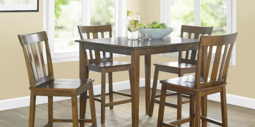 5-Piece Counter-Height Dining Sets as Low as $121 Shipped