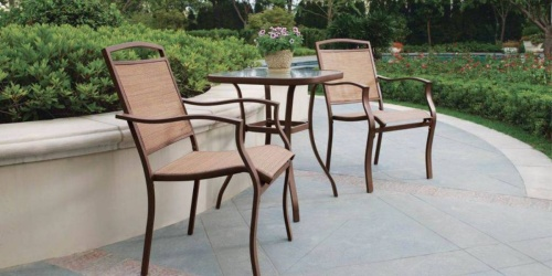 Mainstays 3-Piece Outdoor Bistro Sets Only $67.99 Shipped (Regularly $129)
