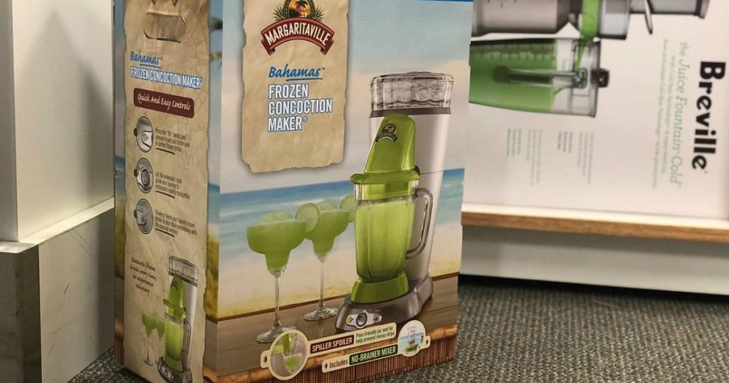Margaritaville Bahamas Frozen Concoction Maker on floor in-store