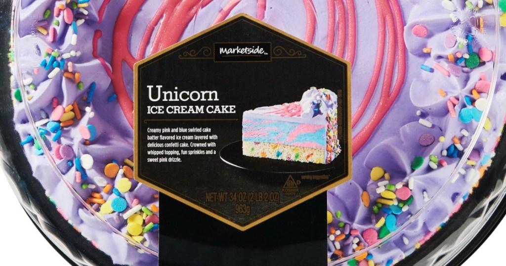 Walmart Is Selling Unicorn Ice Cream Cake | Cake Batter Ice
