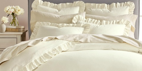 Up to 85% Off Martha Stewart Bedding at Macy's + Free Shipping