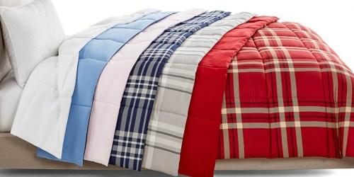 Martha Stewart Reversible Down Alternative Comforter ALL Sizes ONLY $19.99 Shipped (Regularly $110+)