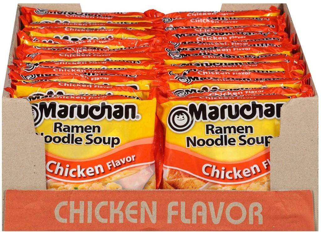 24-Count of Maruchan Ramen Noodle Soup Package