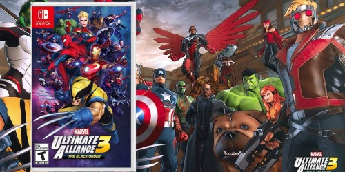 Prime Members   Pre-Order Marvel Ultimate Alliance 3 Nintendo Switch Game Just $49.95 Shipped (Regularly $60)