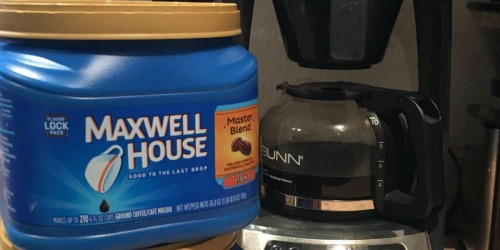 Maxwell House Coffee Canister Just $4.46 on Amazon