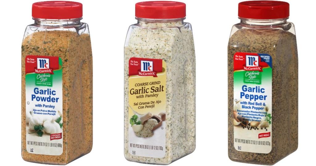 McCormick Garlic Seasoning
