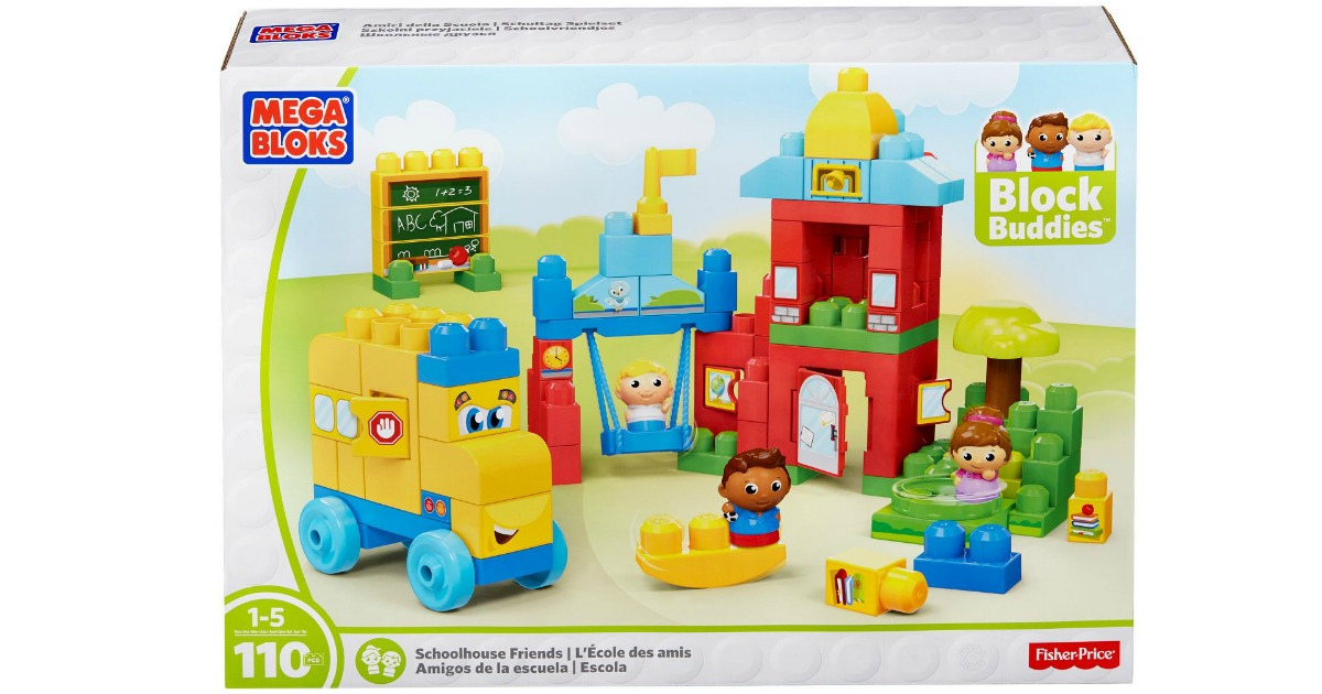 Mega Bloks First Builders Schoolhouse Friends Set in box