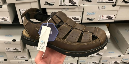 Up to 80% Off Men's Sandals + FREE Shipping for Kohl's Cardholders | Dockers, Croft & Barrow, & More