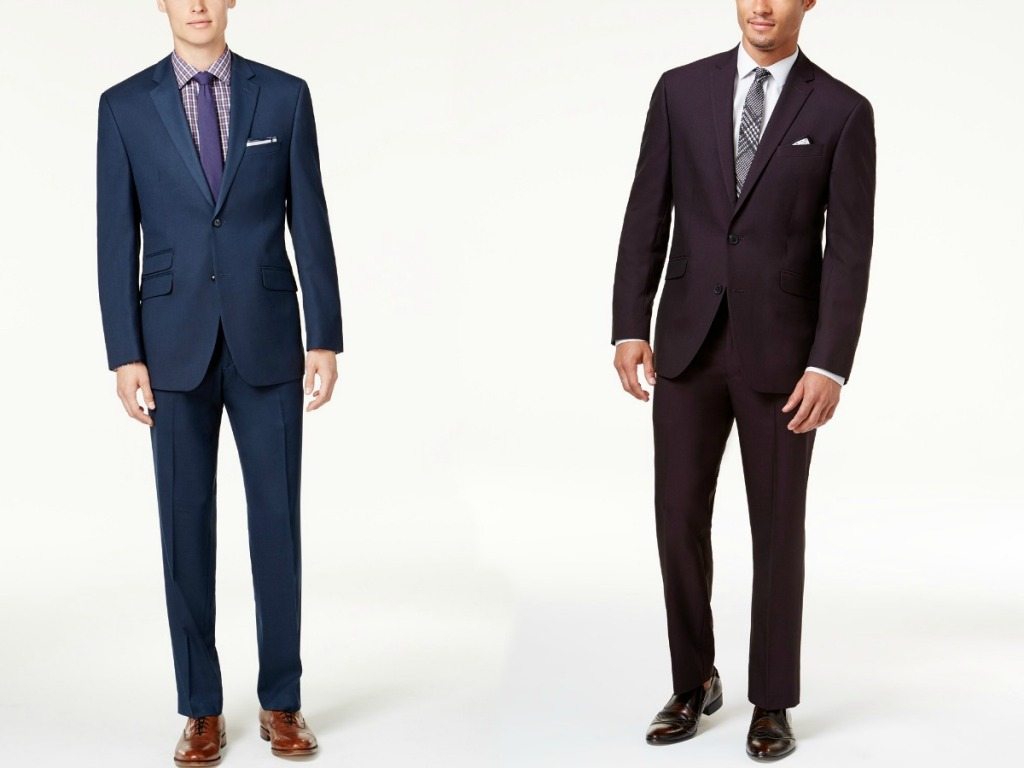 Men modeling Kenneth Cole Suits