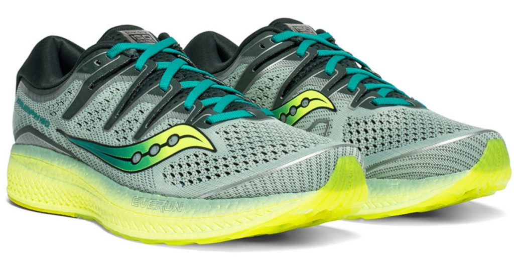pair of mens triumph running shoes