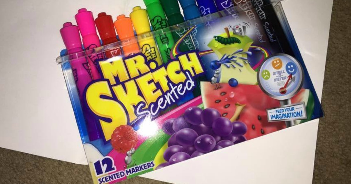 Mr. Sketch Scented Markers 12-Pack Just $4.95