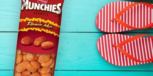 Munchies Flamin' Hot Peanuts 36-Count Only $10.15 Shipped at Amazon | Just 28¢ Per Bag