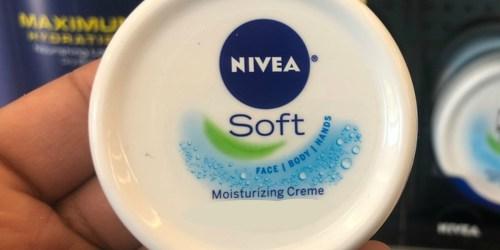 NIVEA Soft Moisturizing Crème 3-Pack Just $10 Shipped at Amazon