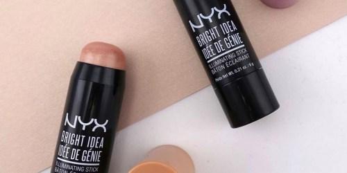 NYX Lipsticks & Illuminating Sticks Only $4 Shipped (Regularly $8)