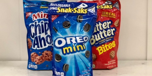 Nabisco Snak-Saks as Low as 72¢ Each at Target (Regularly $2.19)