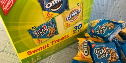 Nabisco Sweet Treats Variety Pack 30-Count Only $5.58 Shipped on Amazon (Just 18¢ Each)