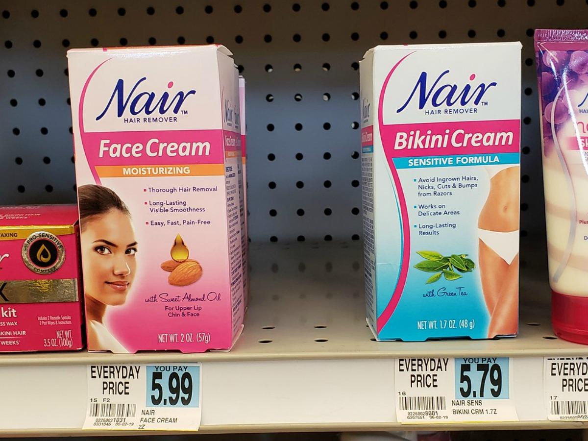 New 1 Nair Coupon Bikini Creams Only 1 90 Each At Rite Aid More