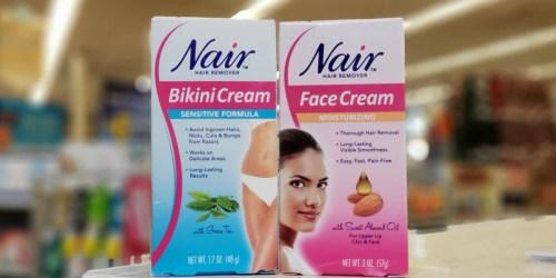New $1 Nair Coupon = Bikini Creams Only $1.90 Each at Rite Aid + More