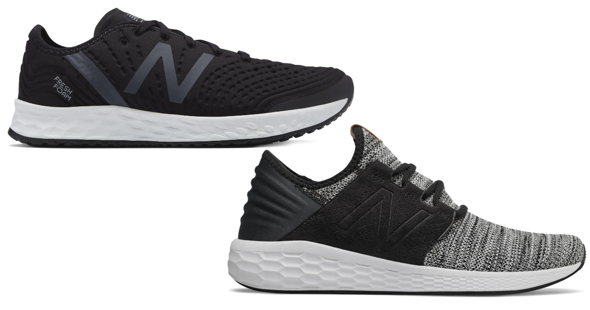 black and gray new balance shoes