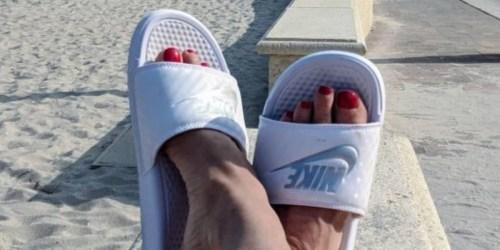 Nike Women's Benassi Sandals Only $15 on Amazon