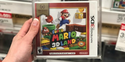 Nintendo Selects 3DS Games Only $14.99 at Target (Zelda, Super Mario & More)