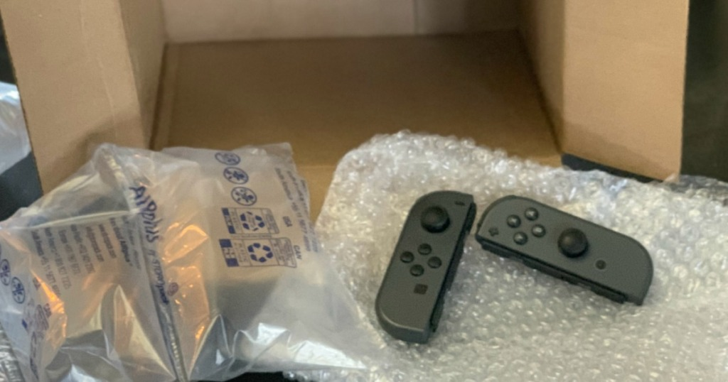 Nintendo Joy-Con Controllers packaged up