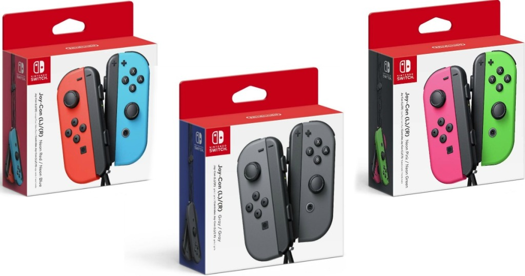 Amazon Prime: Nintendo Switch Joy-Con Controllers Only