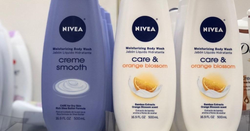 nivea body wash at target