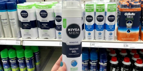 New Nivea Men's Products Coupon = Up to 55% Off at Target
