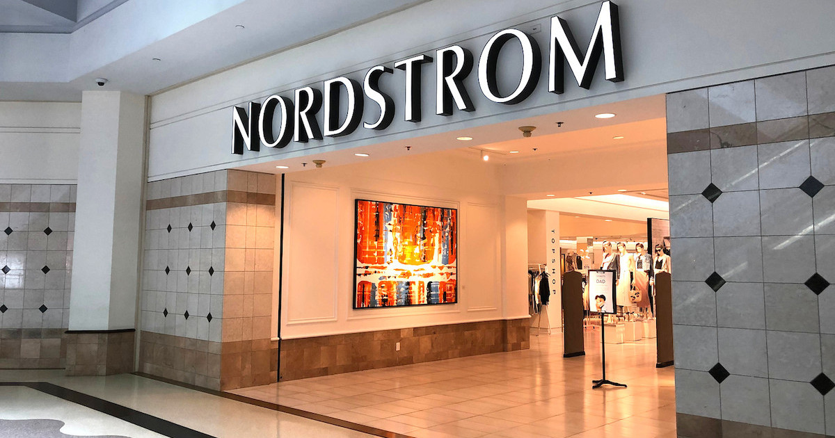 nordstrom store front in mall