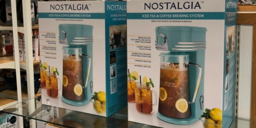 Nostalgia Electrics Kitchen Appliances as Low as $17.99 Shipped for Kohl's Cardholders (Regularly $50)