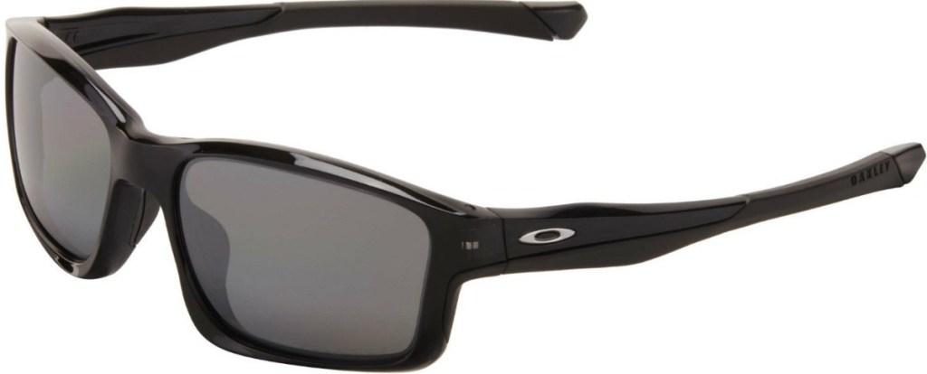Black Oakley branch sunglasses with black lenses