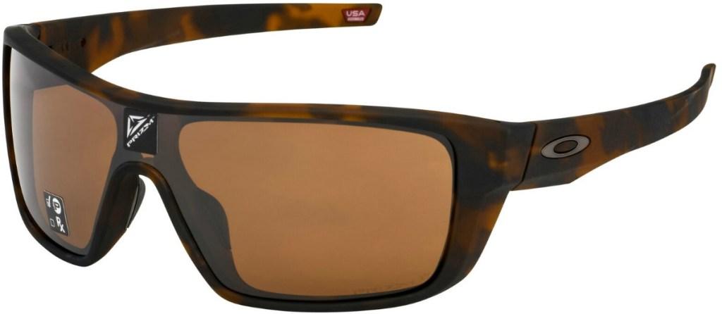 Tortoise shell colored sunglasses