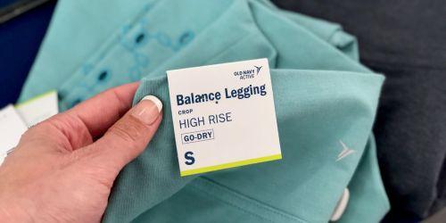 Old Navy Cardholders: Women's & Girl's Leggings Only $10 (Regularly up to $30)