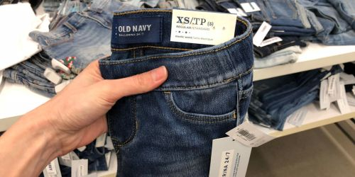 Old Navy Kids Jeans Only $8 & Adult Jeans Only $12