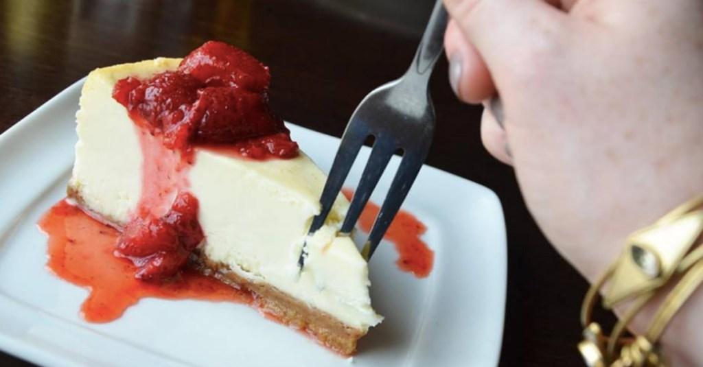 Olive Garden cheesecake