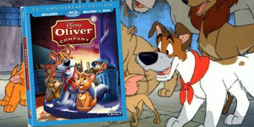 Disney's Oliver & Company 25th Anniversary Edition Blu-ray + DVD Only $5