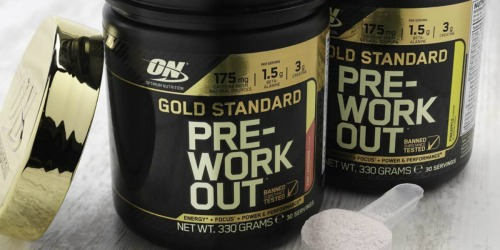 Amazon: Optimum Nutrition Gold Standard Pre-Workout Powder Only $12 Shipped