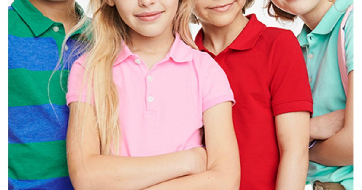 OshKosh B'Gosh Girls & Boys Uniform Polo's, Shorts & More as Low as $5! -  Hip2Save