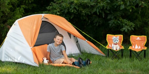 Ozark Trail 3-Person Kids Camping Tent Bundle Only $29 at Walmart (Regularly $119)