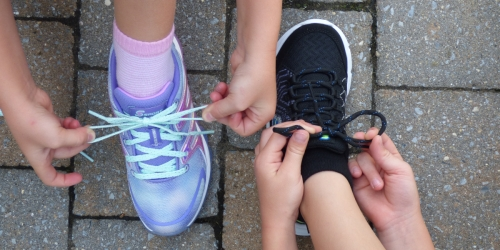Help Your Kids Learn How to Tie Their Shoes with These Tips & Products!