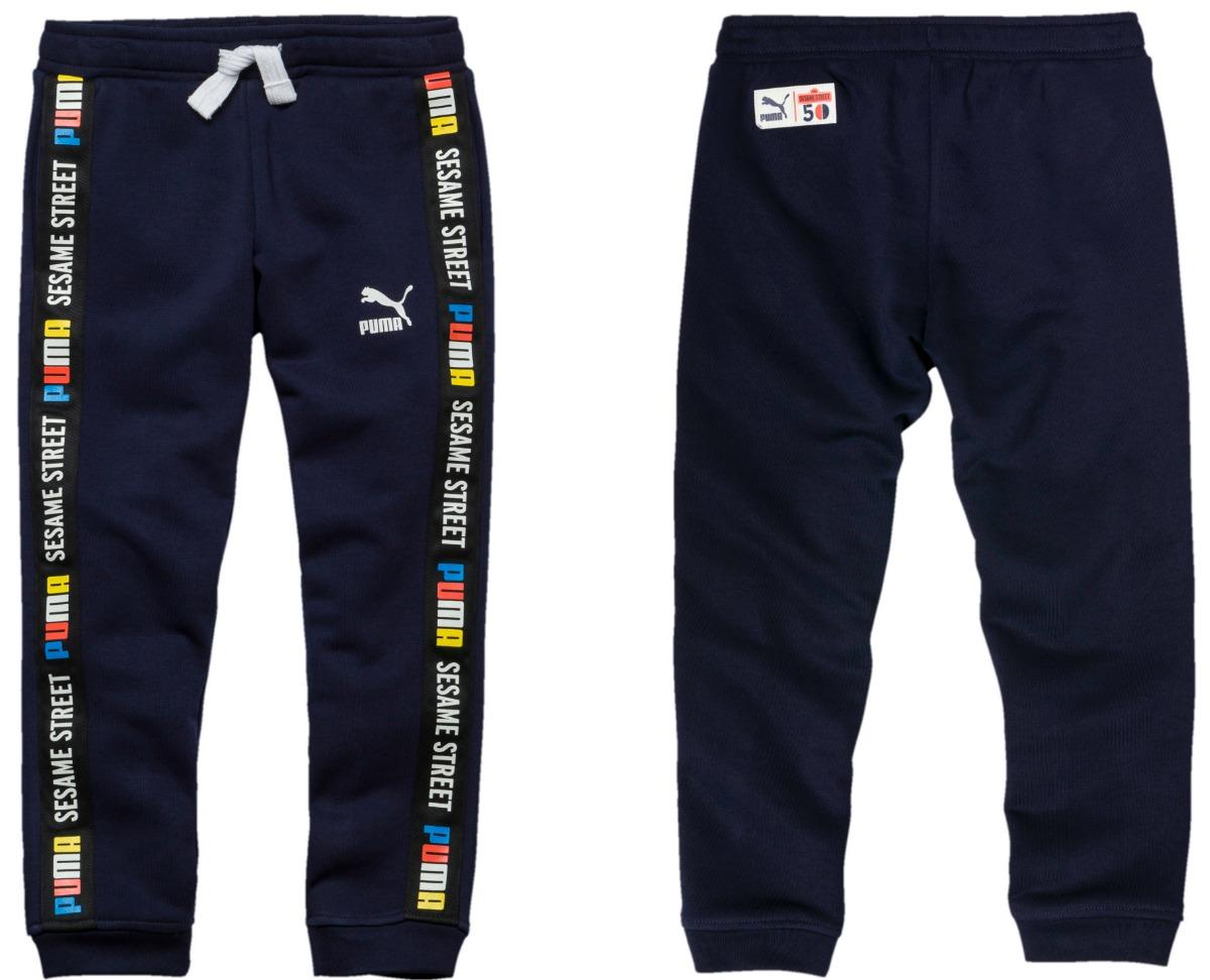 Sesame Street Kids Pants in Navy Blue