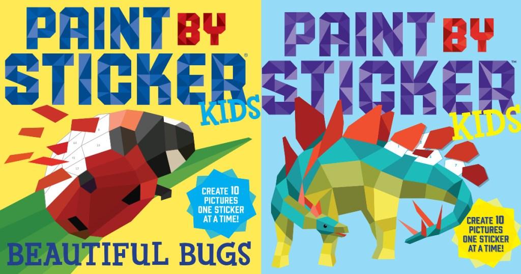 Paint by Sticker Kids books