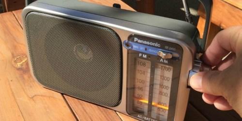 Panasonic AM/FM Radio Only $22.99 on Amazon (Regularly $30)