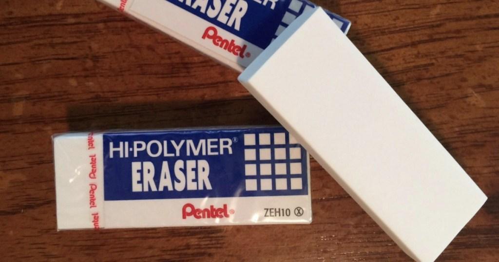 Pentel erasers